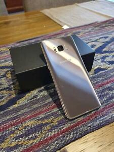 Samsung Galaxy S8 Maple Gold 64gb excellent condition