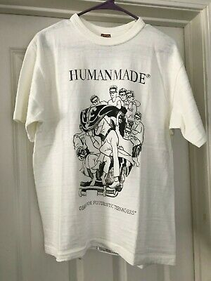 Human Made T-Shirt White Large 2017 Nigo Tee Bape Japan Japan White Tee