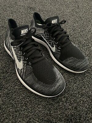 Nike Free 4.0 Flyknit Running Trainers Size 10.5 Very Little Use.