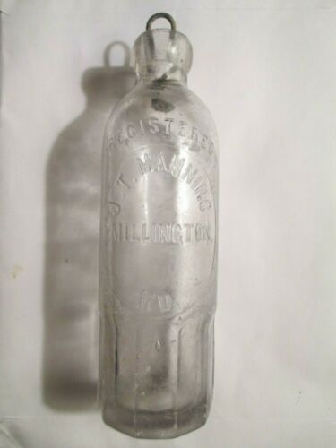 Hutchinson bottle 1880