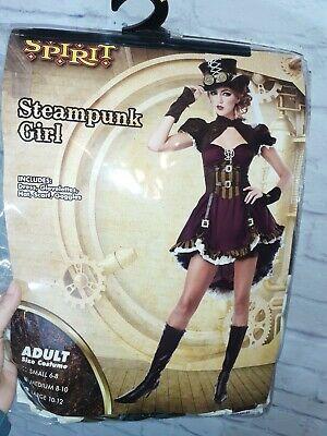 Womens Steam Punk Holloween Costume 6-8