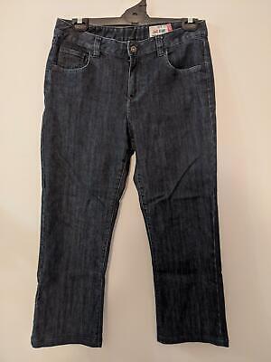 Jag Jeans Women's Jeans Size 14 High Rise Blue Denim Regular Fit Boot Cut