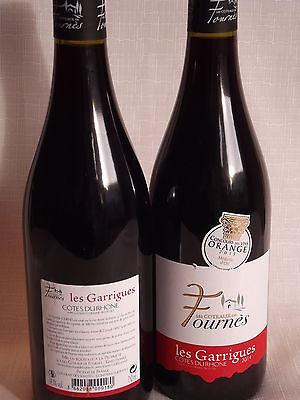 Grundpreis 10,66€/L: Rotwein, 6x0,75L Cotes du Rhone Villages, AOP 2012