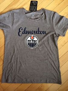 Ladies Oilers Tee Shirt BRAND NEW WITH TAGS