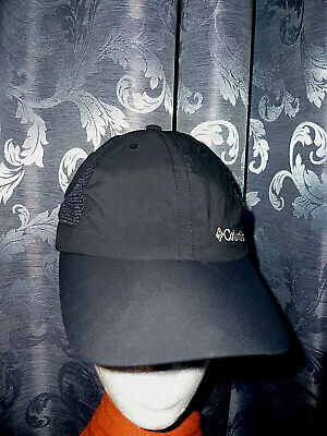 COLUMBIA Cap Baseballcap Basecap Kappe Käppi Unisex schwarz One Size NEU