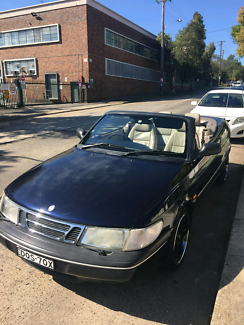 1997 Convertible SAAB Newtown Inner Sydney Preview