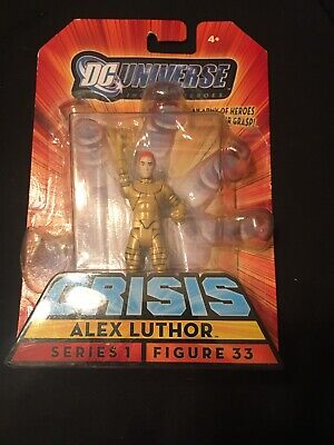 BRAND NEW SEALED DC UNIVERSE CRISIS 2008 ALEX LUTHOR FIGURE SERIES 1 FIGURE 33