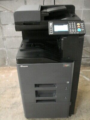 Copystar Cs-306ci Color Copier With Print-scan Functions-working Unit