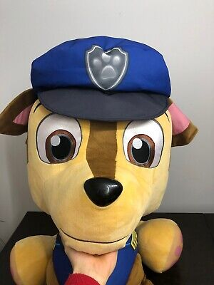 Large Chase Paw Patrol Stuffed Toy.