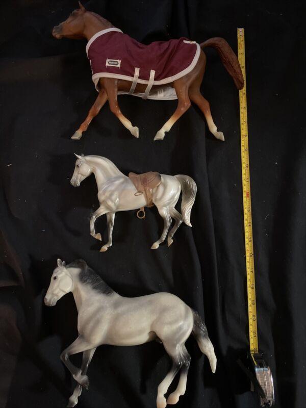 Breyer Reeves Horse Lot of 3 Breyer Molding Co
