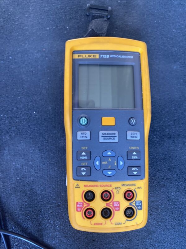 For Fluke 712b RTD Calibrator , Great Condition Barely Used