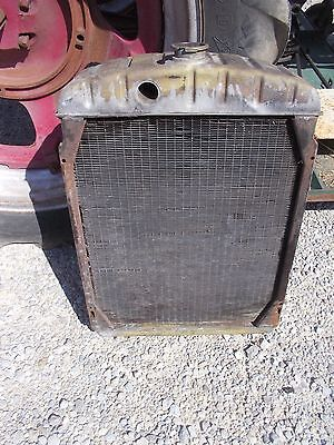 Farmall Sm Smta Mta Tractor Original Ih Ihc Engine Motor Radiator Assembly