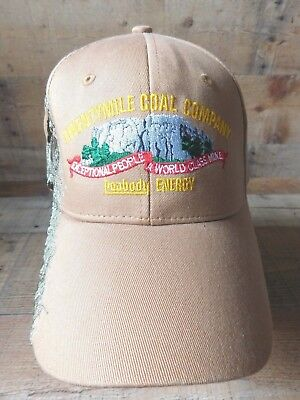 Twentymile Coal Company Peabody Energy Adjustable Strapback Adult Hat Cap