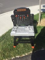 Black and decker kids tool workbench with tool set