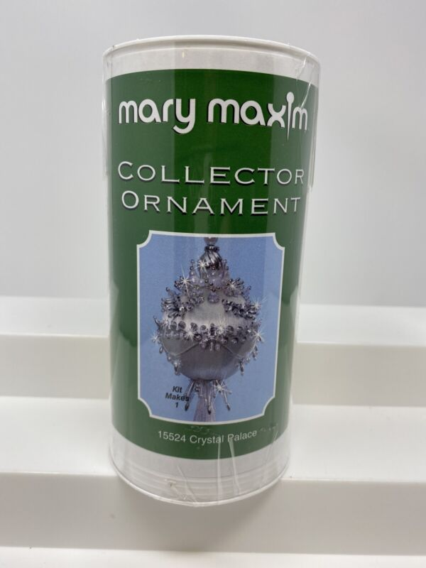 Christmas Holiday Mary Maxim Collector Ornament KIT CRYSTAL PALACE 15524