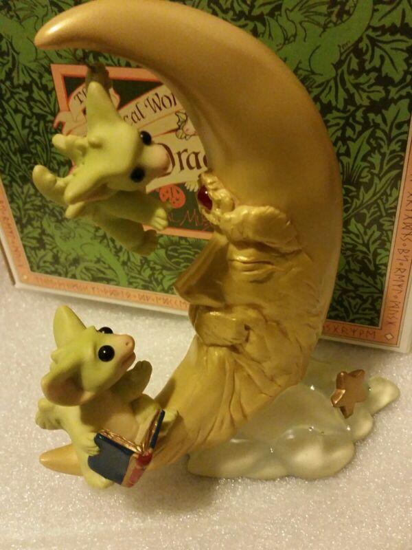 RRD2 💖 Pocket Dragons Dragon * Mint in Box * 🌜🔮Wizard Moon🔮🌛 * 2001 *