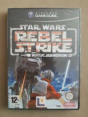 New Sealed Nintendo Gamecube Star Wars Rebel Strike Rogue Squadron Game UK...