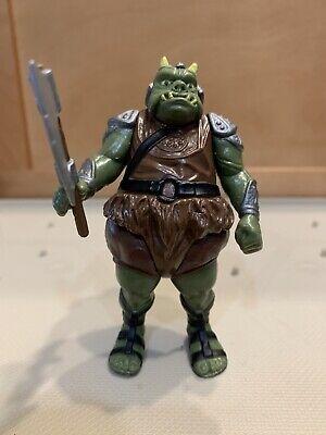 Vintage 1983 Star Wars Jabba The Hutt Gamorrean Guard Complete Weapon Hong Kong!