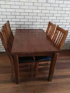 Dining table and 4 chairs Caloundra Caloundra Area Preview