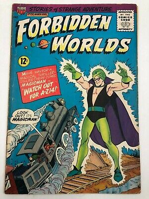 Forbidden Worlds #126 (1965) Best Syndicated Comic Book Sci