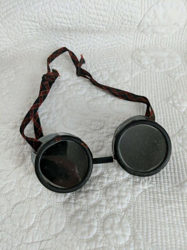 "Vintage Steampunk ""Strange Angel"" Green Sunglass Motorcycle Goggles"
