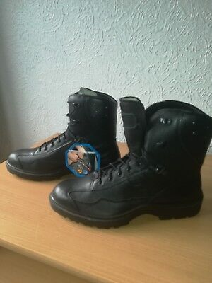 chaussures bottines homme HAIX tactical police full cuir noir hautes pointure 43
