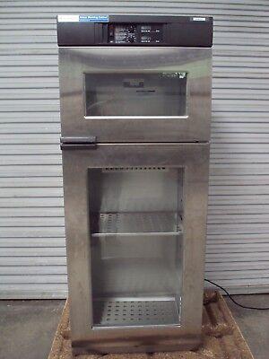 Steris Qdj05 Dual Compartment Glass Door Blanket Warmer Warming Cabinet