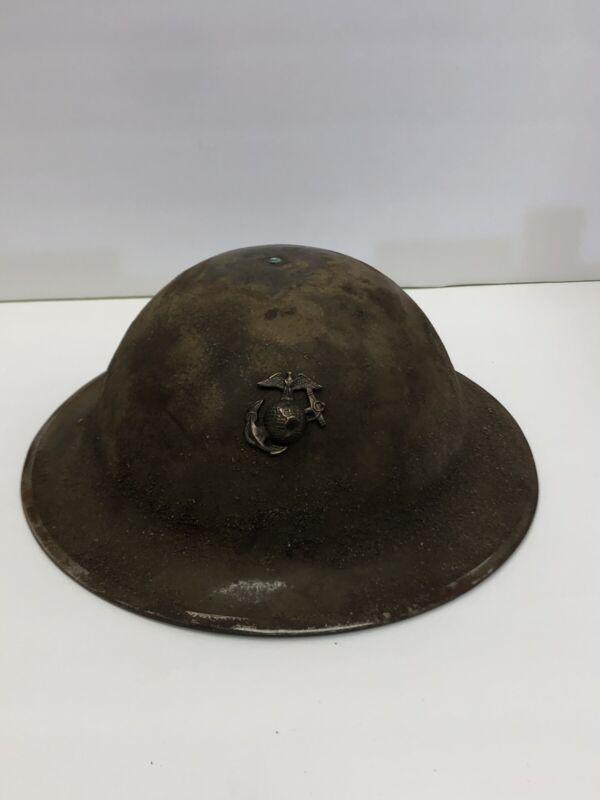 WW1 American USMC Helmet