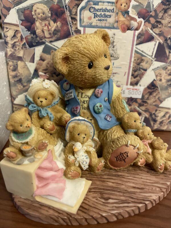 "Cherished Teddies ""Collecting Cherished Friends Along The Way"" #759511 NIB"