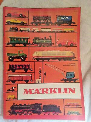 Modellbau-Eisenbahn: Märklin - Katalog 1972 D