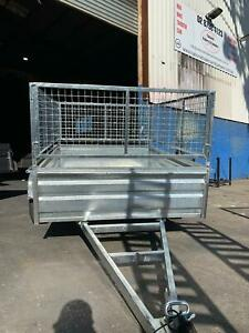 8x5 high side box trailer gal with 600mm cage  Smithfield Parramatta Area Preview