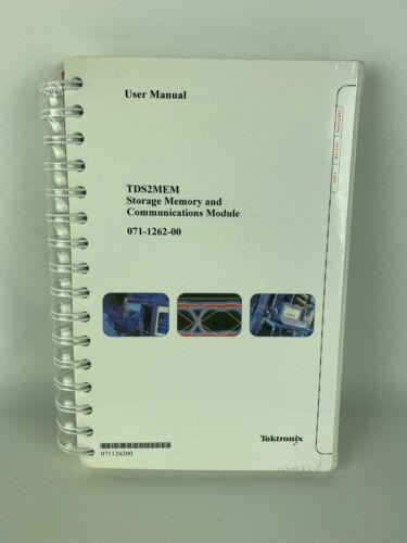 New Tektronix TDS2MEM Storage Memory & Comm. Module User Manual (PN 071-1262-00)