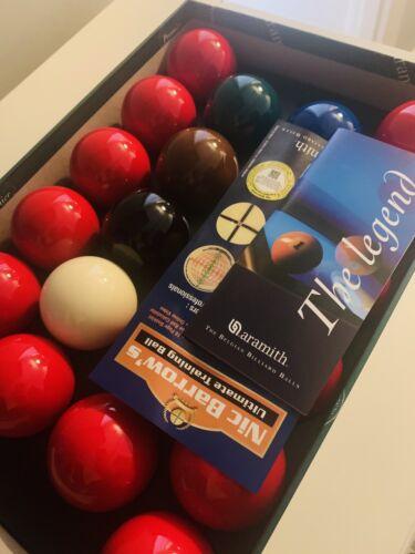 Aramith Snooker Premier Ball Set - Full Size 22 Balls 2 1/16