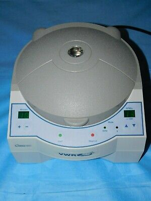 Vwr Galaxy 16dh 37001-300 Benchtop Microcentrifuge W 24 Place Rotor With Lid