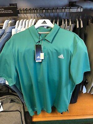 Adidas Golf Polo Shirt Size Xtra Large Green