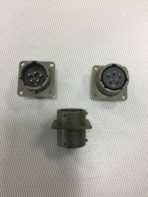 Array Through Bulkhead Circular Connector MS3119E14-5