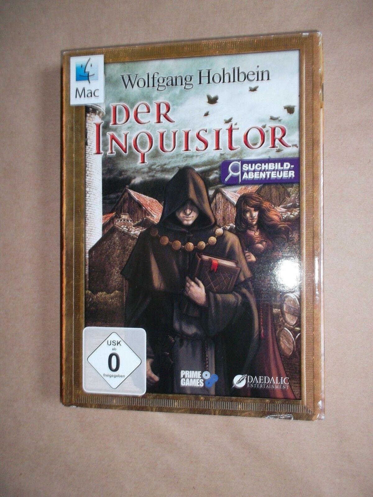 Der Inquisitor (Mac, 2010, DVD-Box) für MAC OS /  Adventure Rätsel W. Hohlbein