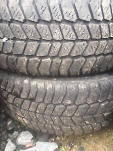 Two tires 185/60r15 lots of tread left asking $50