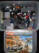 LEGO Agents Doveton Casey Area Preview
