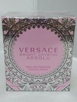 Versace Bright Crystal Absolu Edp 90 ML/ 3.0 Oz Spray