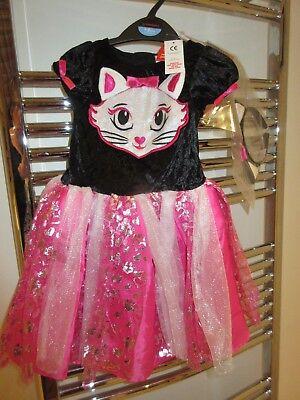 BNWT TU Sainsburys Halloween Cat Dress Costume + head band 1 - 2 years 12 - 24 - Baby Halloween Costumes Sainsburys