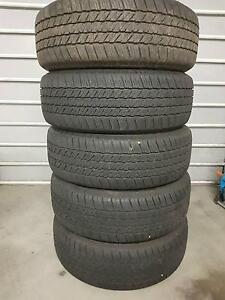 Bridgestone Dueler H/T 265/60R18 x5 Tyres Castle Cove Willoughby Area Preview