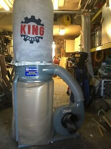 """""""King"""" dust collector"""