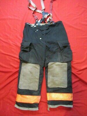 40 X 28 1990s Globe Firefighter Fire Pants Bunker Turnout Gear Vtg
