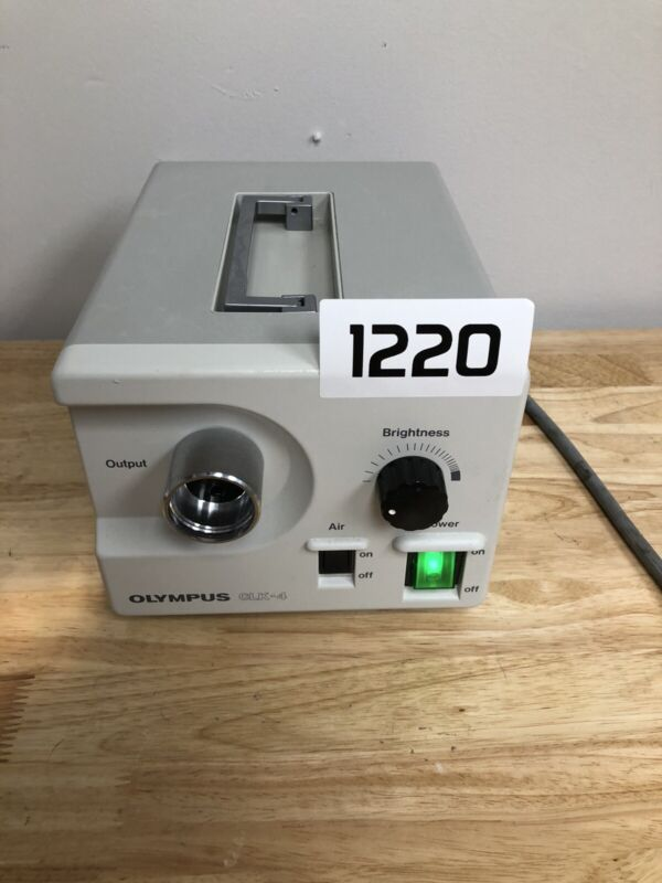 Olympus CLK-4 120V / 1.7A Halogen Light Source (B1220)