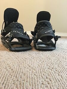 Flow rear entry snowboard bindings