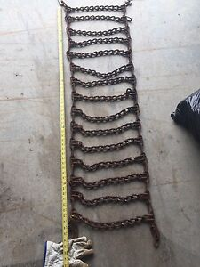 Small tractor chains