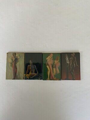 Vintage Risque Pocket Mirrors