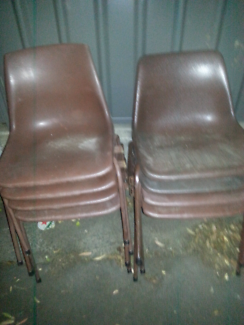 Old school chairs