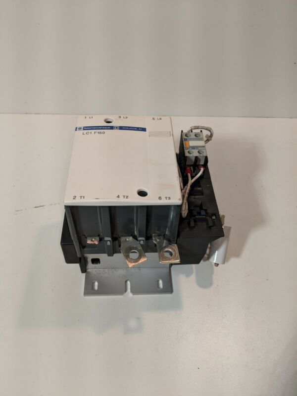 Telemecanique square D LC1-F150 LC1F150 3 PHASE CONTACTOR BROKEN